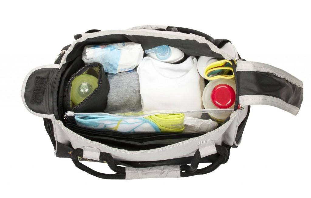 un design compact et urbain pour le sac langer bowling. Black Bedroom Furniture Sets. Home Design Ideas